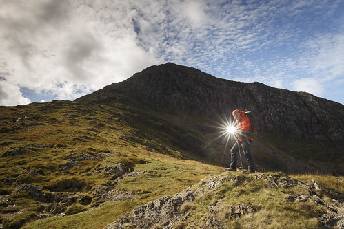 Dave Dear - A real star on Moel Hebog - Snowdonia - Wales | by Nick Livesey Mountain Images