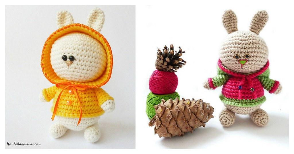 Amigurumi Bunny In Hoodie Free Crochet Pattern New Post Ha Flickr