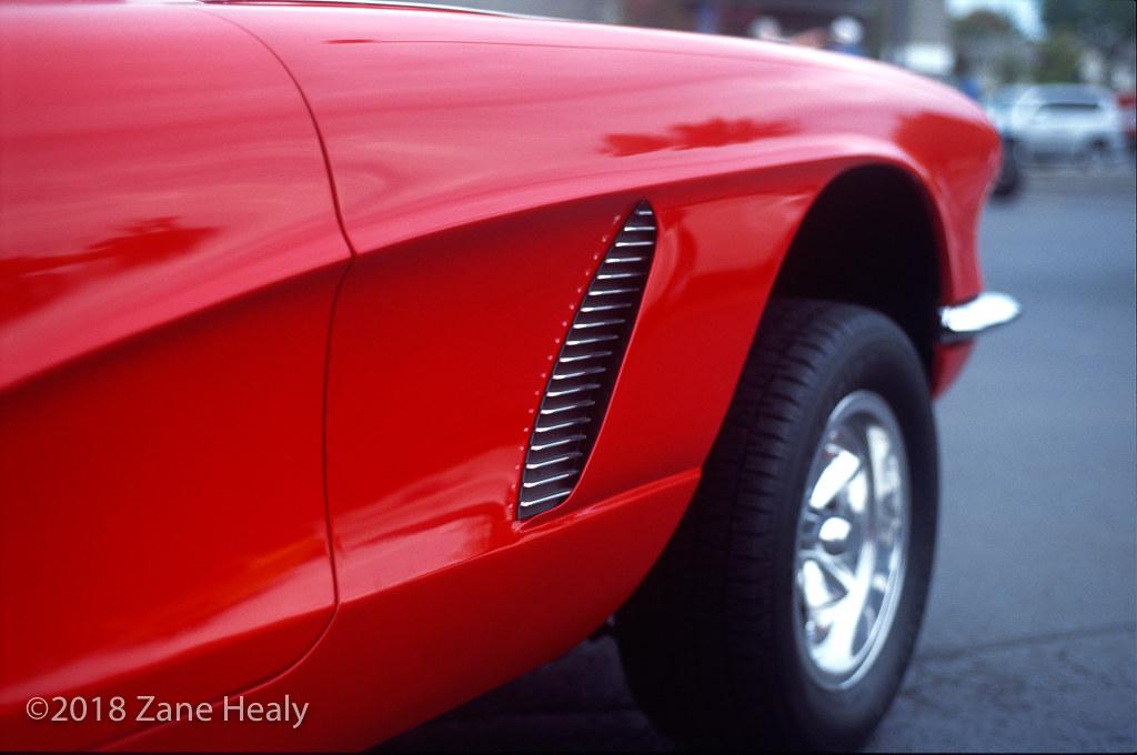 1962 Chevy Corvette 2018 09 21 Fuji Velvia 100f R1i35 Zane Healy