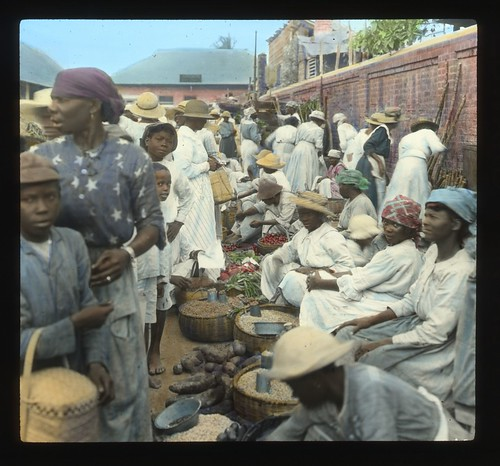 Market, Kingston, Jamaica, ca 1890 | by The Caribbean Photo Archive