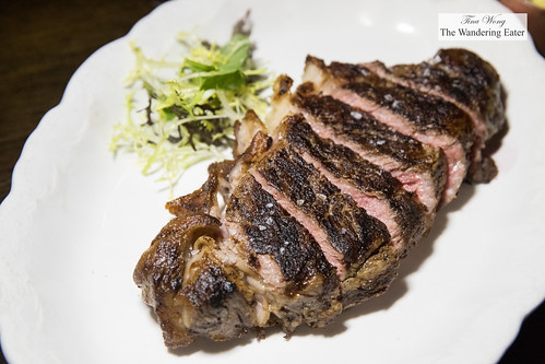Creekstone New York strip steak | by thewanderingeater