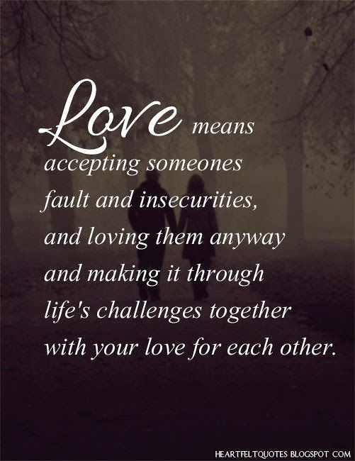 Heartfelt quotes about love