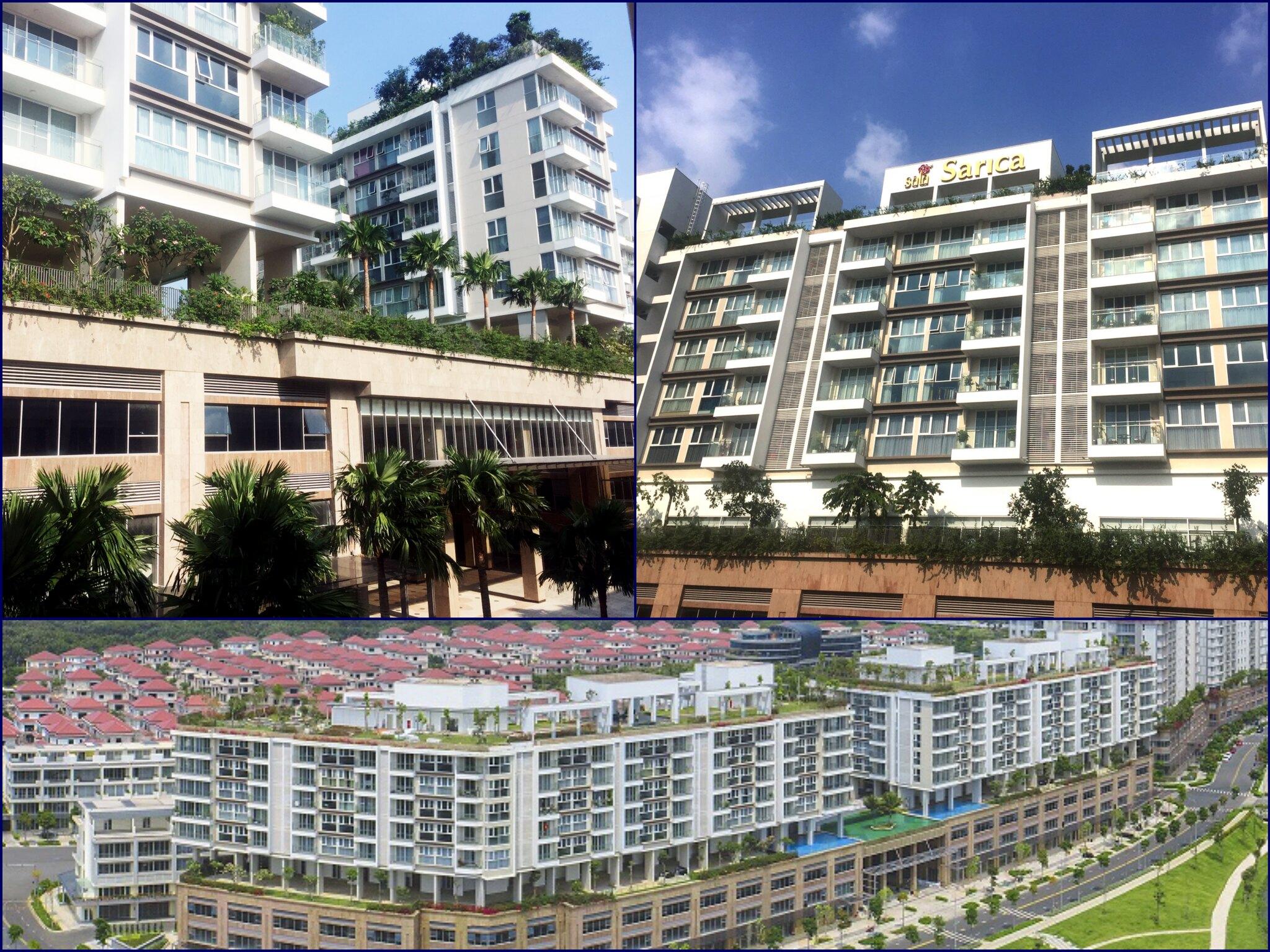 Khu căn hộ Sarica Thủ Thiêm, Đây được xem là khu dự án cao cấp nhất tại Sala, chỉ cao 8 tầng và 2 tầng hầm để xe