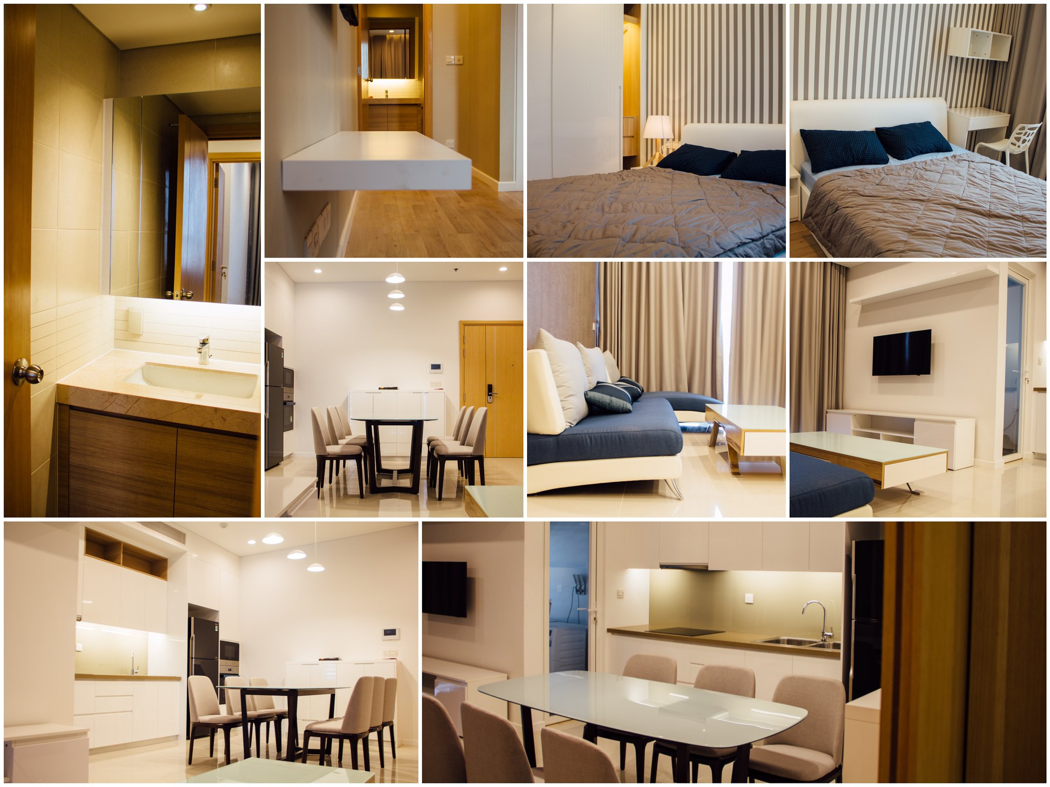 Hình ảnh thực tế căn hộ Sarimi cho thuê