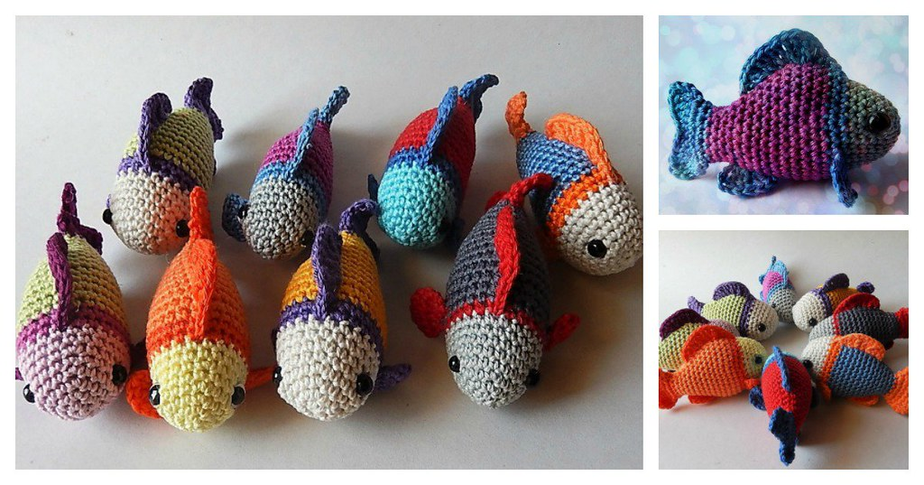 Little Fish Amigurumi Free Crochet Pattern New Post Has Be Flickr