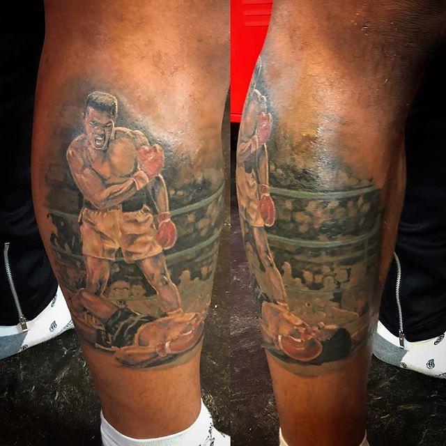Ebony tattoo