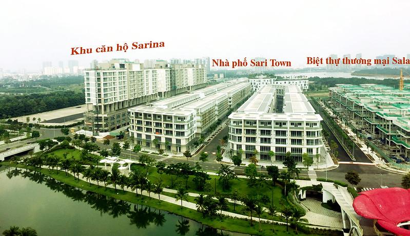 Khu nhà phố Sari Town