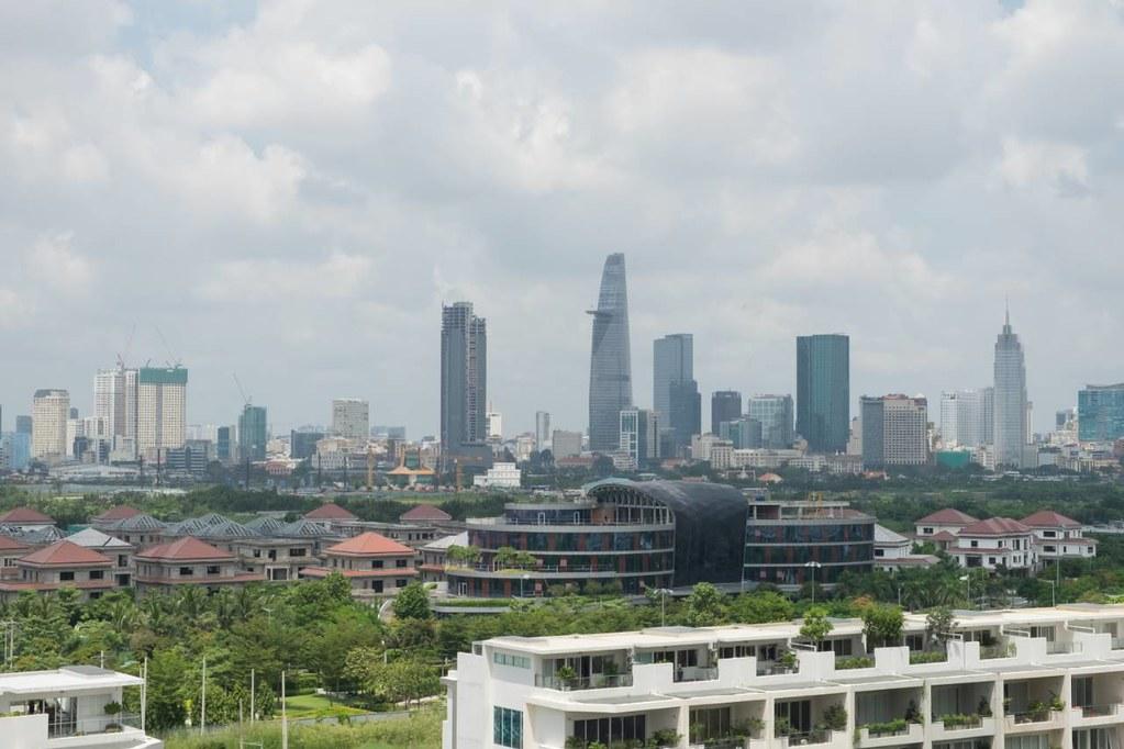 View về trung tâm thành phố, Quận 1