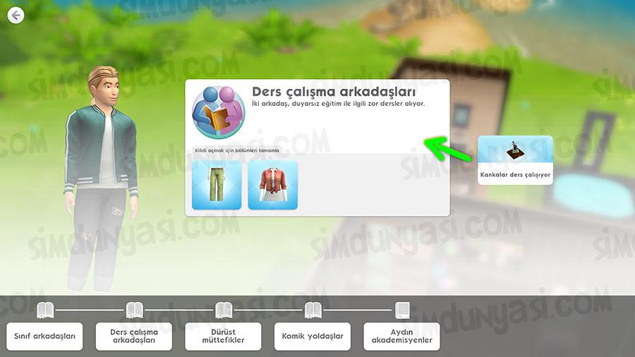 The Sims Mobile Okula Dönüş (Back to School) Etkinliği