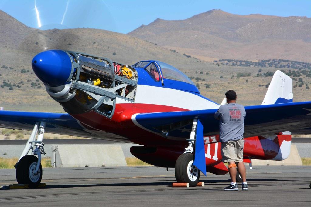 Reno Air Races 2018 - North American P-51D Mustang Race No