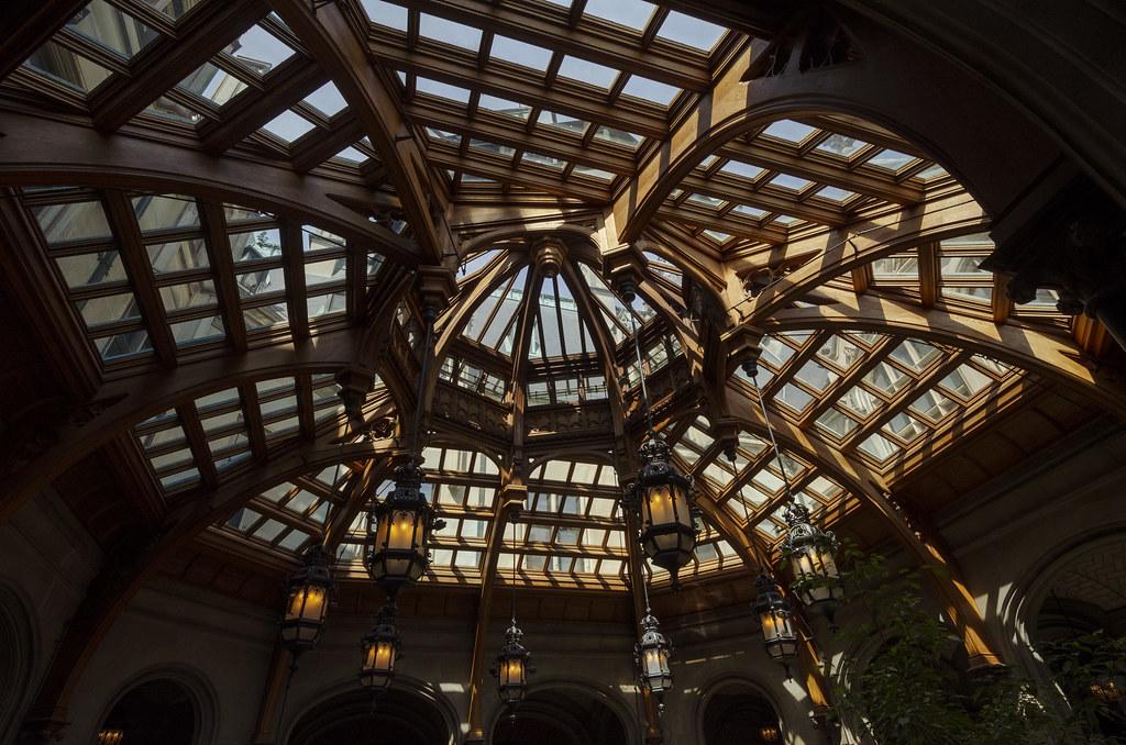 Atrium Ceiling Biltmore House Rschnaible Flickr
