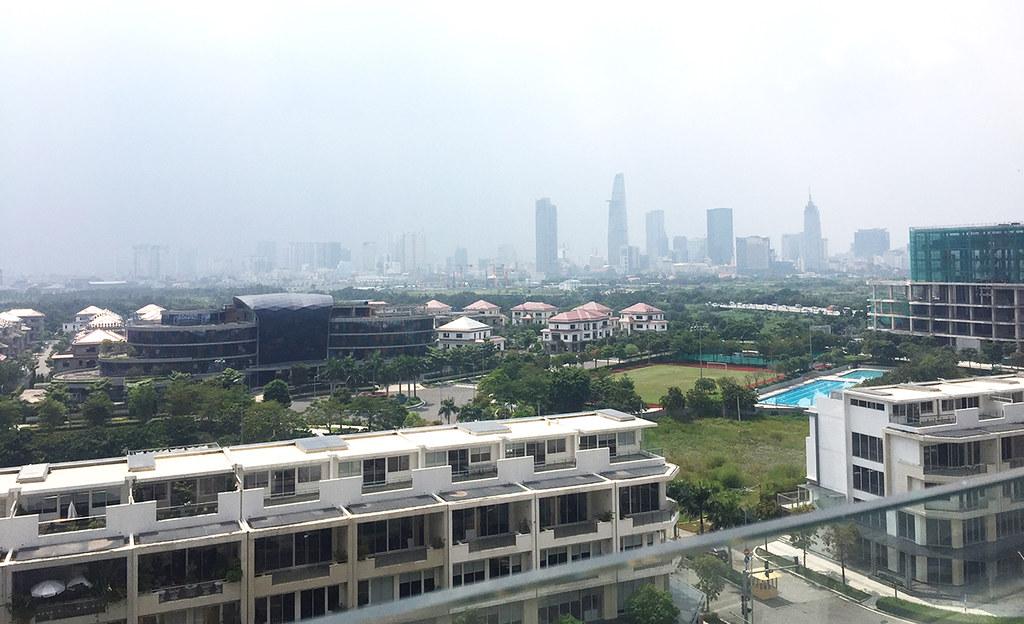 View căn hộ về trung tâm Quận 1