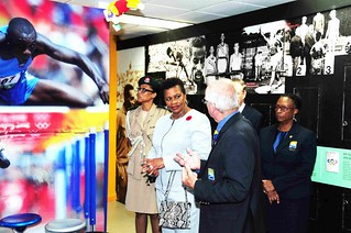 Governor General tours Barbados Olympic Association (9) | by barbadosgovernmentinformationservice