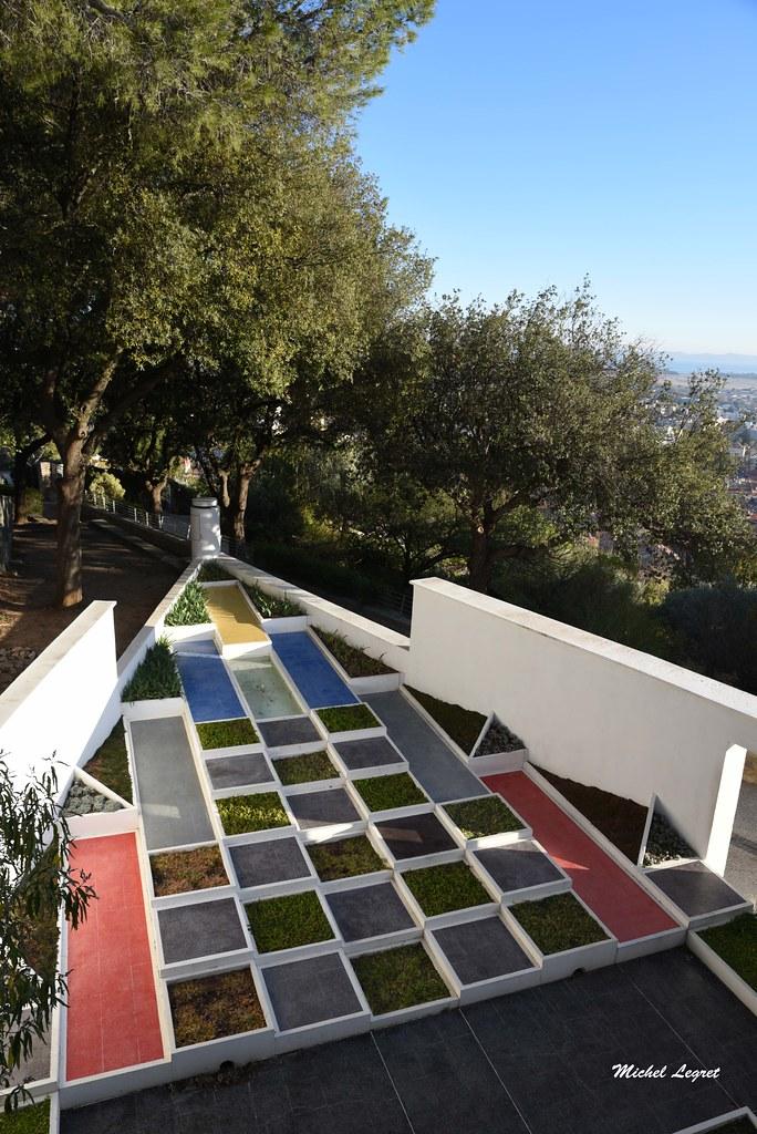 Villa Noailles Hyeres Provence Le Jardin Cubiste Michel Legret