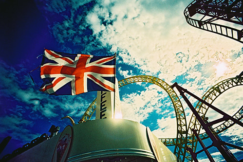 Union Jack Flag and Rollercoaster | by Fodagrafs