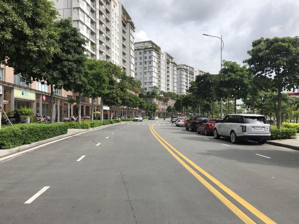 Trục đường thương mại D1 khu đô thị Sala