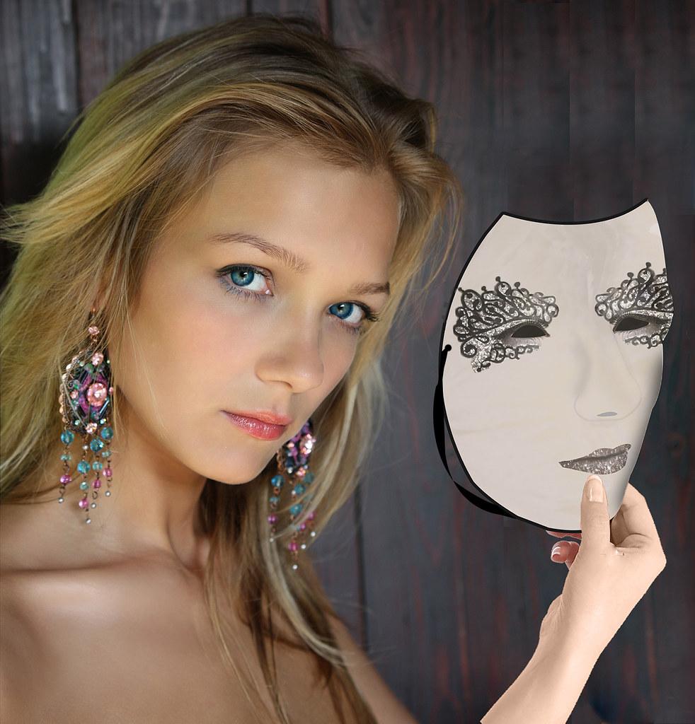 my carnival mask claradon flickr