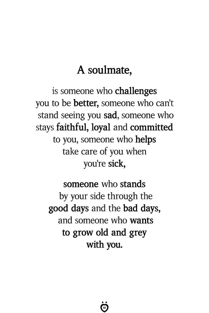 Soulmate And Love Quotes Not My Husband Soulmate And Love Flickr