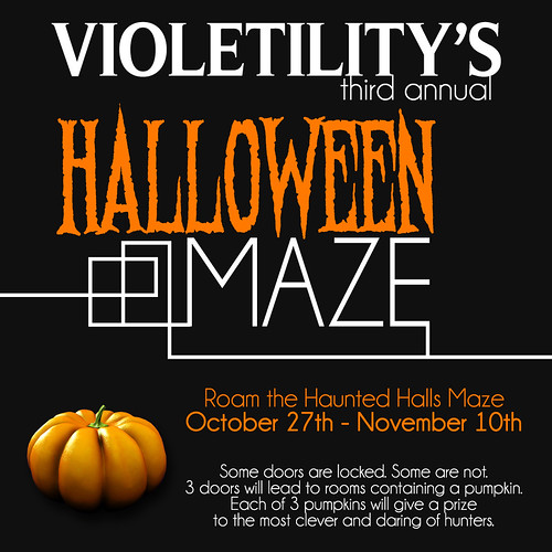 Violetility - Haunted Halls Halloween Maze | by Violetility