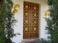 le parvis du sanctuaire de Bahá'u'lláh