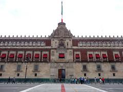 National Palace Straight Ahead