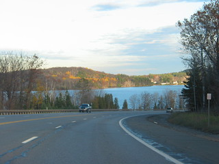 Yoop Trip, October 2007 - Approaching Marquette, Ispheming, Negaunee, Chocolay | by danakin