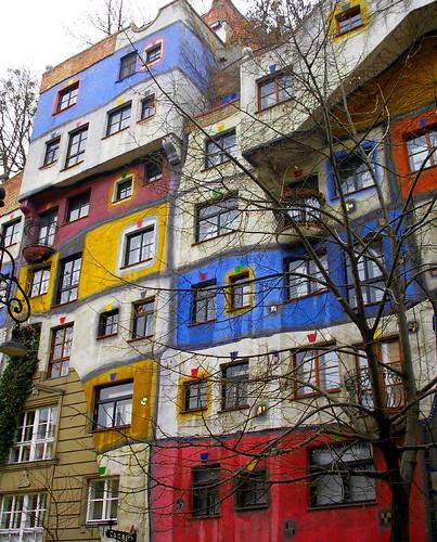 Hundertwasser House I Vienna Austria The Hundertwasser