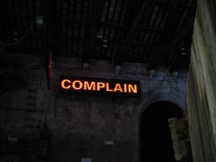 complain | by b.frahm