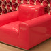 Pink Latex Armchair