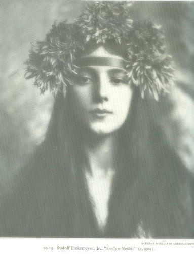 Evelyn Nesbit, the first supermodel | by rosewithoutathorn84
