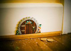 the tooth fairy has a private entrance | by -Angela