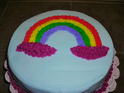 Cake Decorating Classes Dc : First Decorated Cake Wilton Cake Decorating Class 1 - dig ? Flickr