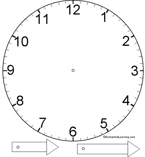 basic clock face template annie s uncommon articles flickr