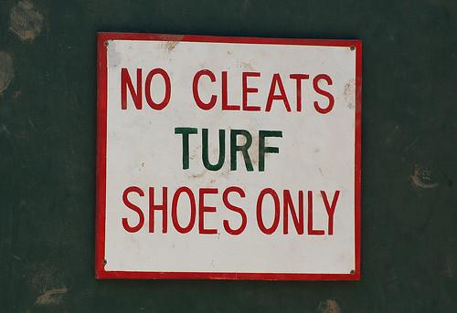 White Turf Shoes Mens