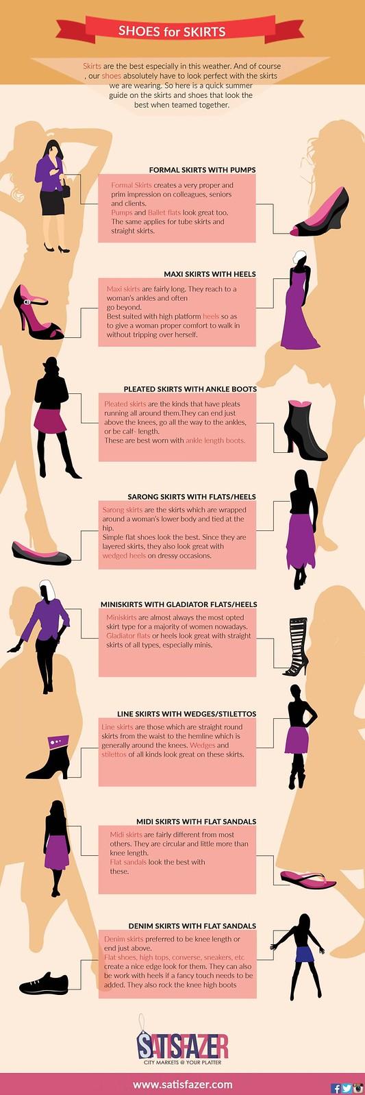 ee4be65b1 Zapatos ideales para tipos falda - CalzadosClubVerde