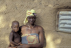 Portrait of mother and child. Ghana | by World Bank Photo Collection