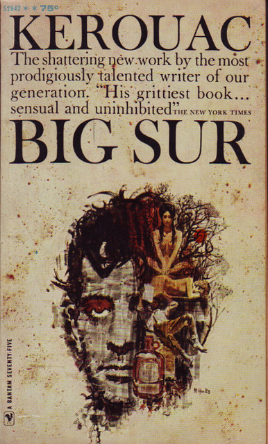 Book Cover Design Jobs London : Jack kerouac s quot big sur front cover a great