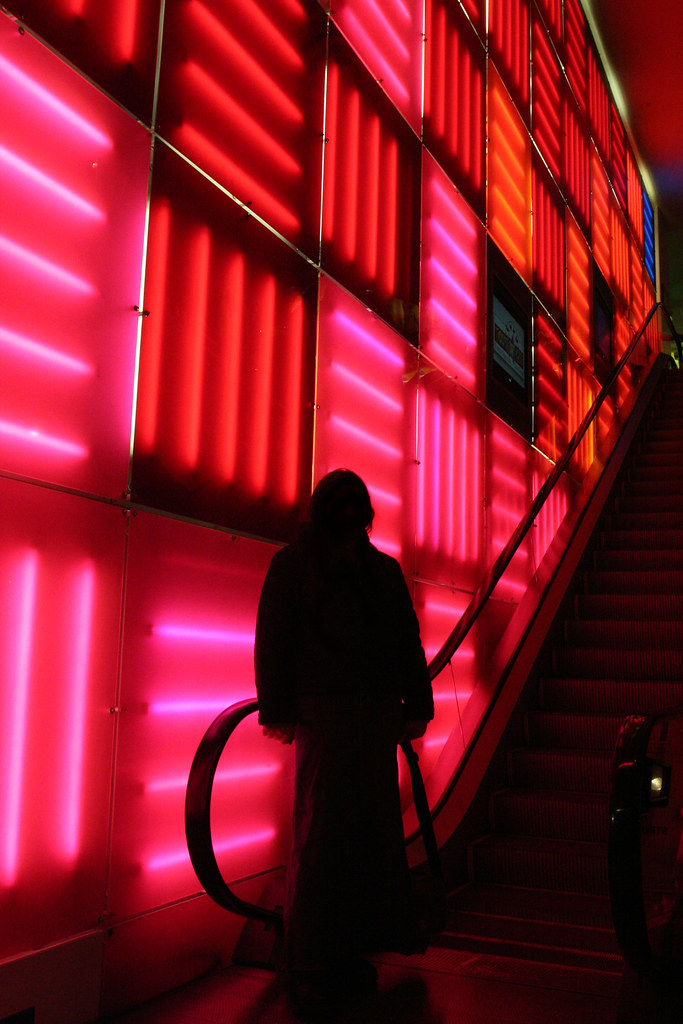 3d Wall Light Toys R Us : Wall of Light This was in Toys R Us in NYC Scallop Holden Flickr