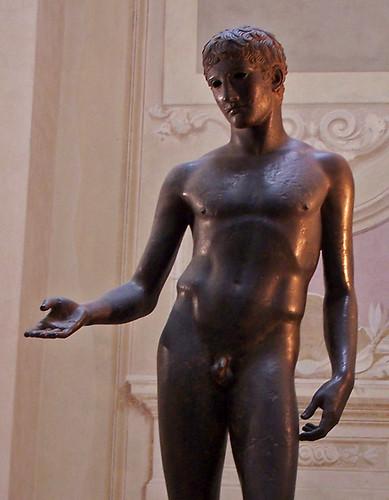 bronze statue of a man essay
