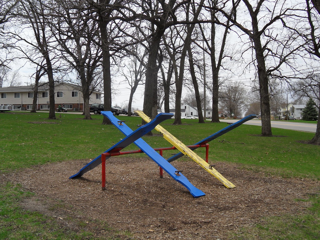 how to build a seesaw swing
