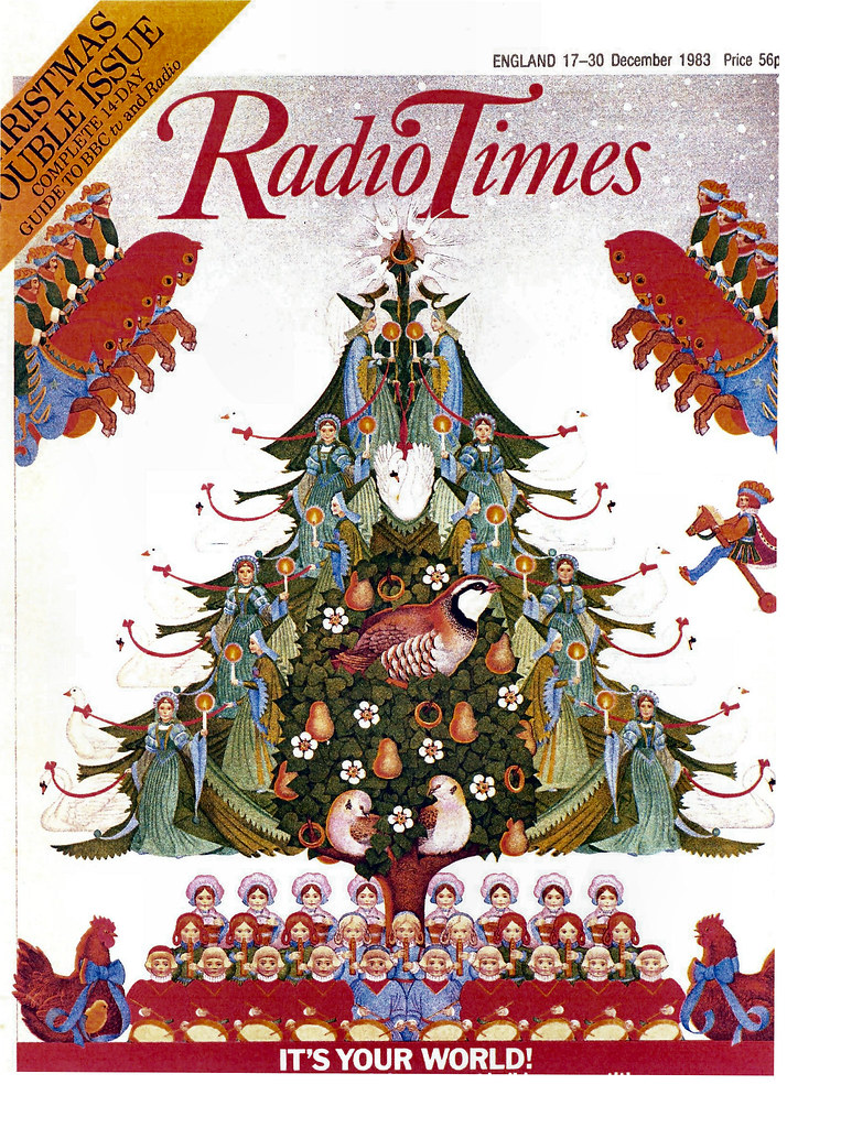 Radio times cover 1983 12 27 christmas combomphotos flickr