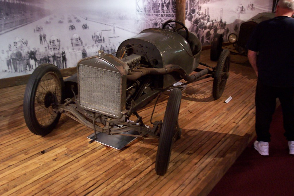 Ford Model T Racer On Pieces Of An Old Board Track Flickr