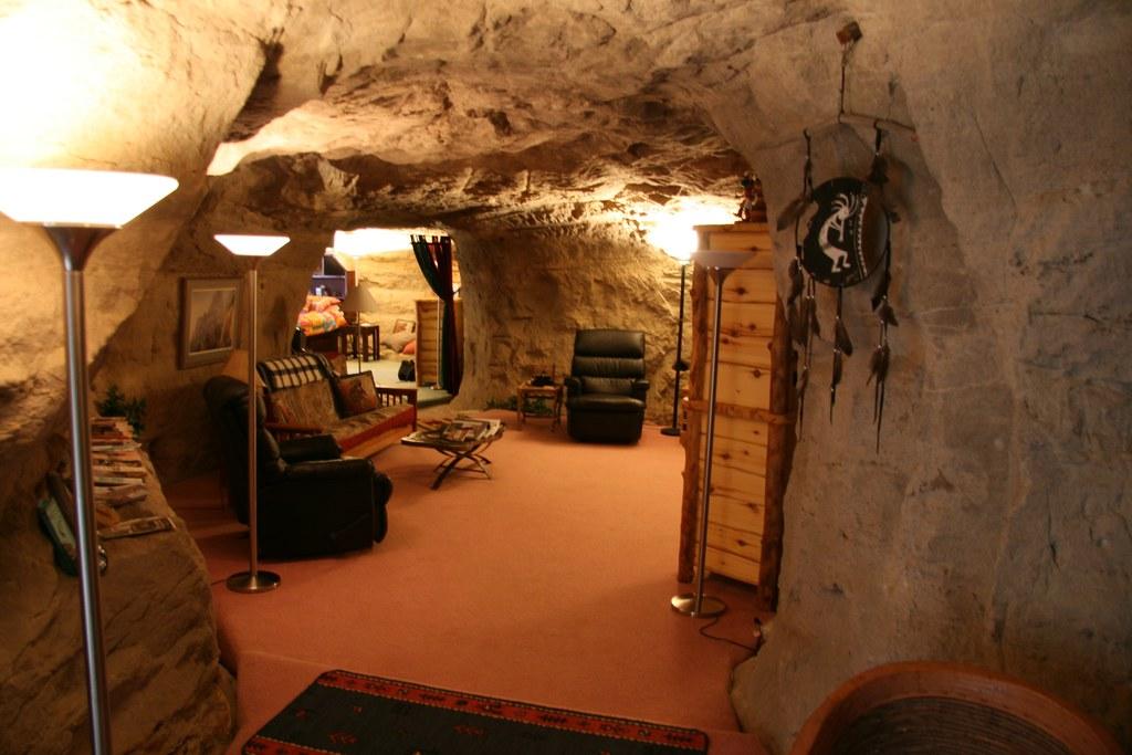 Cave Living Room | Nat Hansen | Flickr