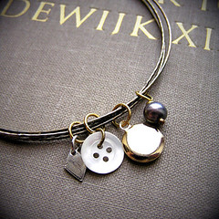 Charm bangle | by souvenirs du passé récent