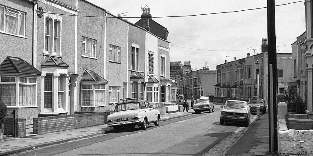 Easton Bristol 1980 Chaplin Road Easton