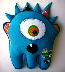Blue Spikey Oogabooga | by Danielle and the Quirks