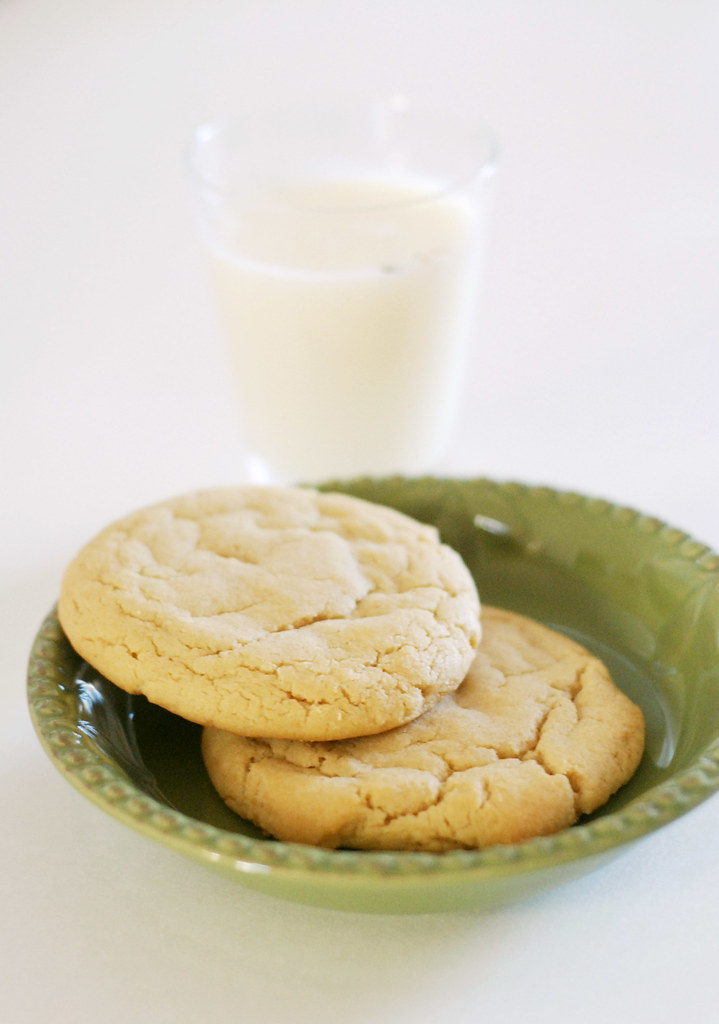Soft and Chewy Vanilla Butter Cookies | These are probably ...
