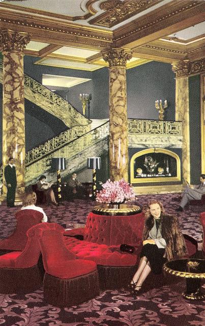 Fairmont Hotel Grand Staircase Dorothy Draper Design 194 Flickr