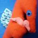 Tangerine Papa Seahorse