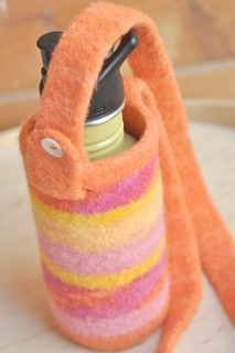 shop restock :: felted water bottle carriers | by waldorf mama